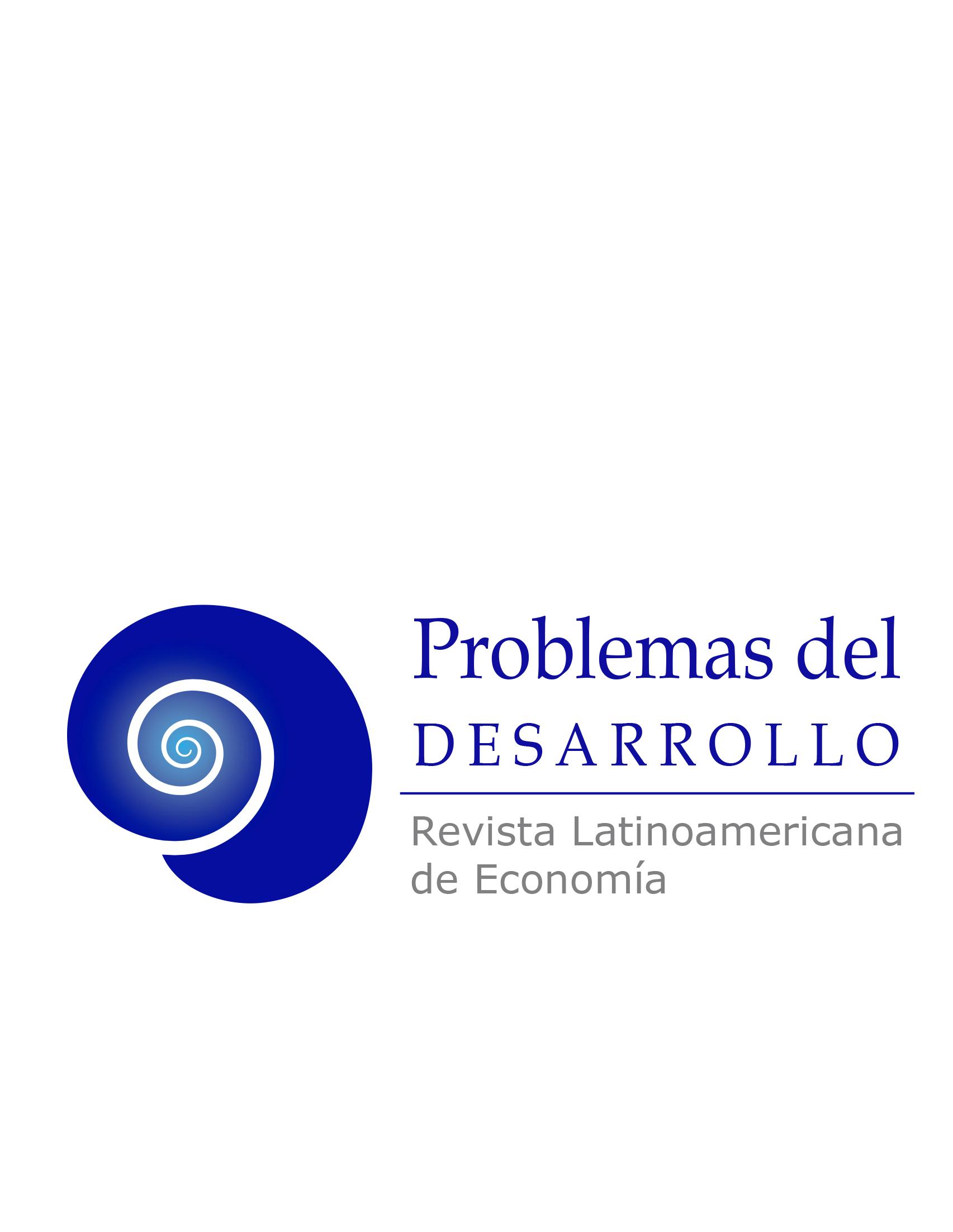 cover image for the Problemas del Desarrollo journal